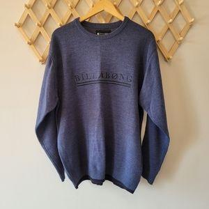 BILLABONG Men's Sweater Jumper Blue (sL)
